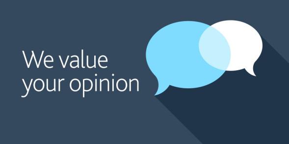 We value your opinion - Landau Forte Surveys