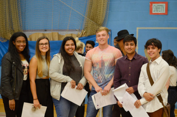 A Level Results Day - 2016